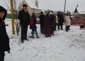 Встреча Нового Года в поселке Канищево