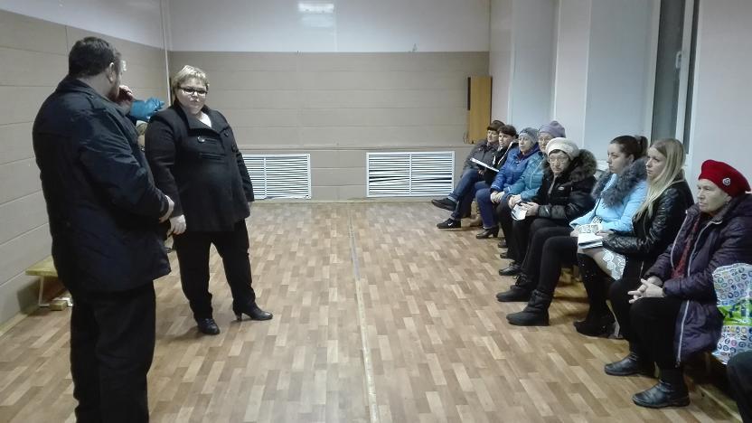 Заседания комитетов ТОС «Соколовка», «Самовский»