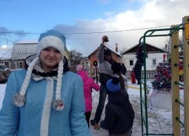 """Дед Мороз в гостях у ТОСа """"Верхняя-2"""""""