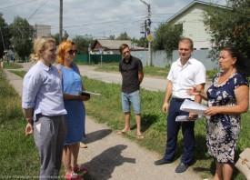 Встреча активистов ТОС «Приокский-3» и жителей района с подрядчиком