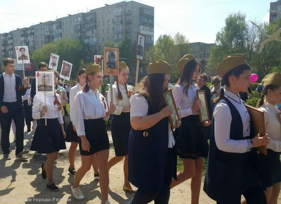 В Рязани проходят праздники дворов и поселков в честь Дня Победы «И помнит мир спасенный...»