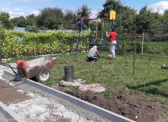 По 12 проектам местных инициатив продолжаются работы