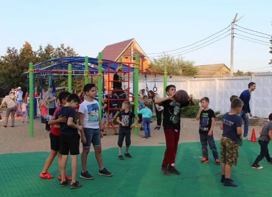 В ТОС «Приокский-3» состоялось открытие местной инициативы