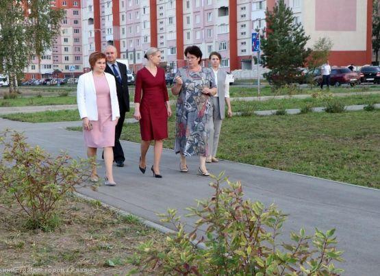 «Вишневый сад»: в рязанском парке состоялось открытие третьего этапа проекта местных инициатив