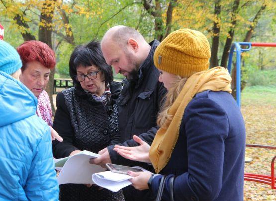 Жители обсудили благоустройство Новопавловской рощи в рамках программы «Городская среда»