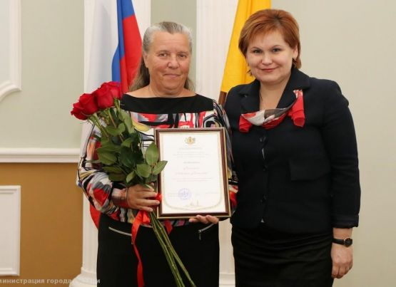 Активист ТОС Людмила Кочкина отметила 65-летие