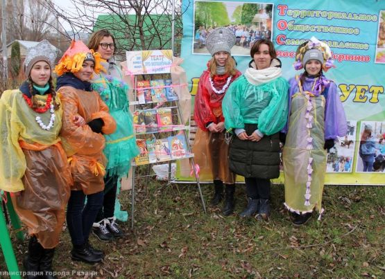 Рязанские активисты принимают участие в региональном конкурсе «Лучшее территориальное общественное самоуправление»