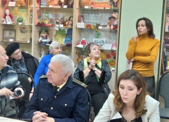 В Железнодорожном районе обсудили благоустройство Севастопольской аллеи