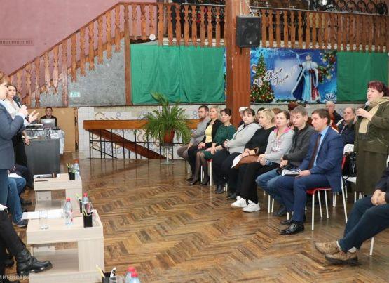 В Октябрьском районе прошла заключительная встреча руководителей администрации Рязани с жителями