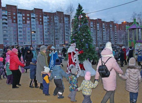 Подведены итоги цикла праздников в «шаговой доступности» «Дед Мороз в гостях у ТОС»