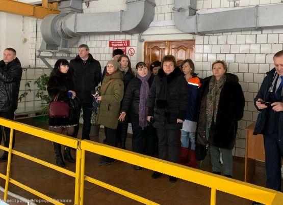 На Окской водозаборной станции прошла встреча руководства «Водоканала» с активными рязанцами