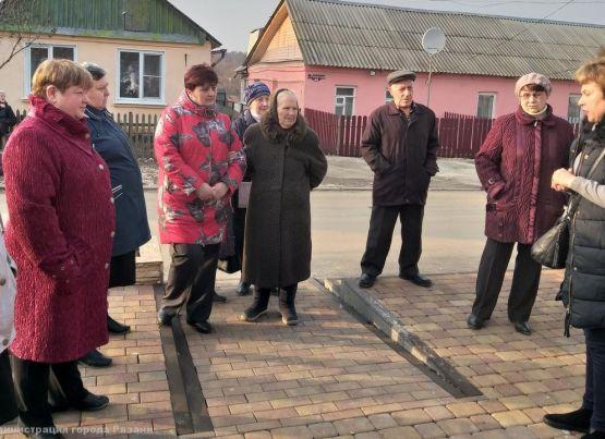 В Рязани проходят собрания жителей в рамках реализации проектов местных инициатив