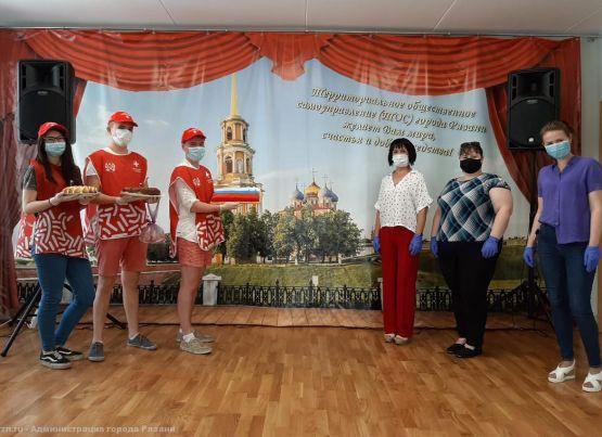 Рязанские ТОСы приняли участие в общероссийской акции «Испеки пирог и скажи спасибо»