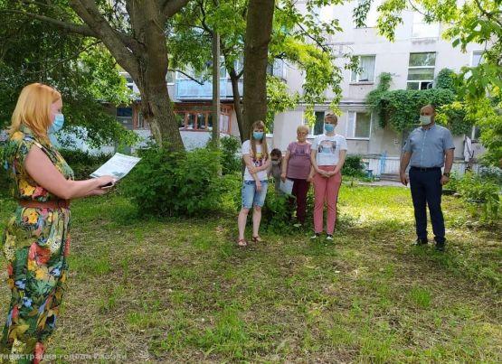 В поселке Ворошиловка по инициативе жителей начинается строительство современной детской игровой площадки