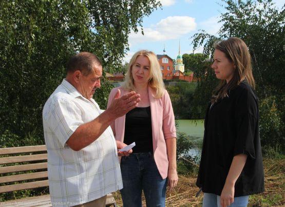 Благоустройство в районе Барского пруда в Голенчино будет продолжено