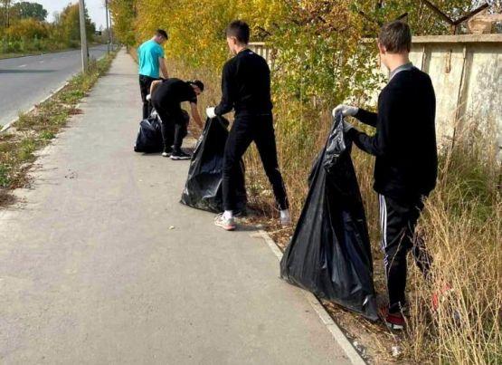 На территориях общественного самоуправления Рязани проходят народные субботники