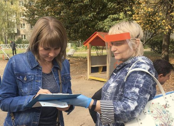 В парках работают площадки по опросу жителей в рамках рейтингового голосования